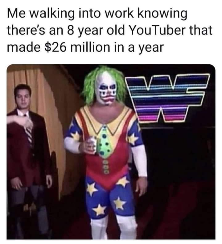 Memes YouTube millionaire