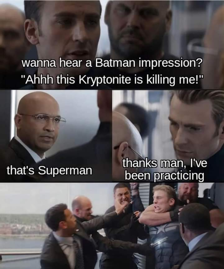 Memes batman impression