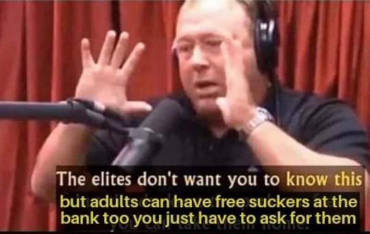 Memes free suckers at the bank