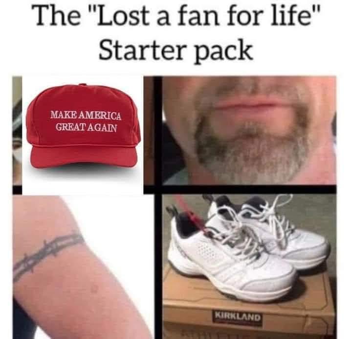 Memes conservative football fans