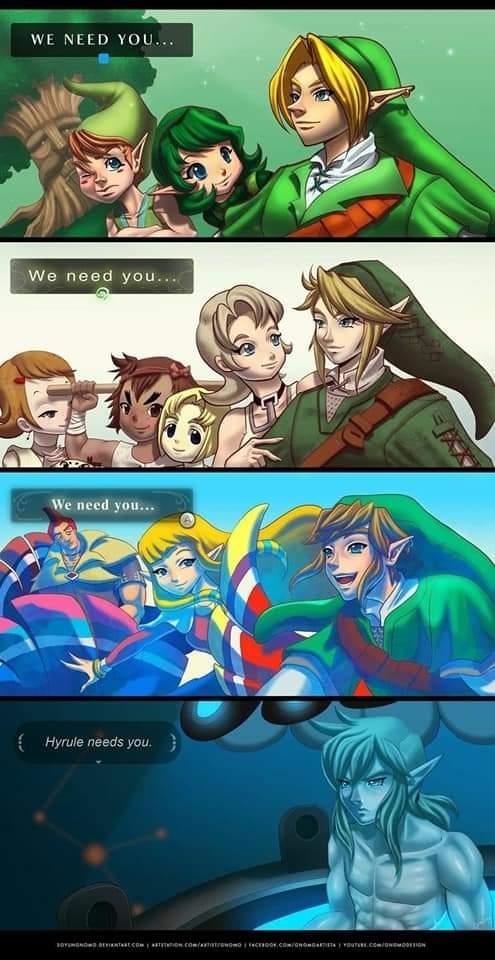 Memes link needed the Legend of Zelda