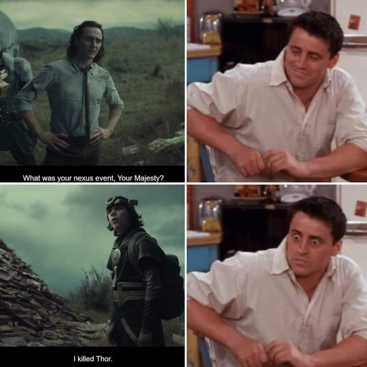 Memes loki killing Thor