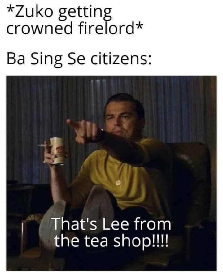 Memes Zuko avatar the last Airbender
