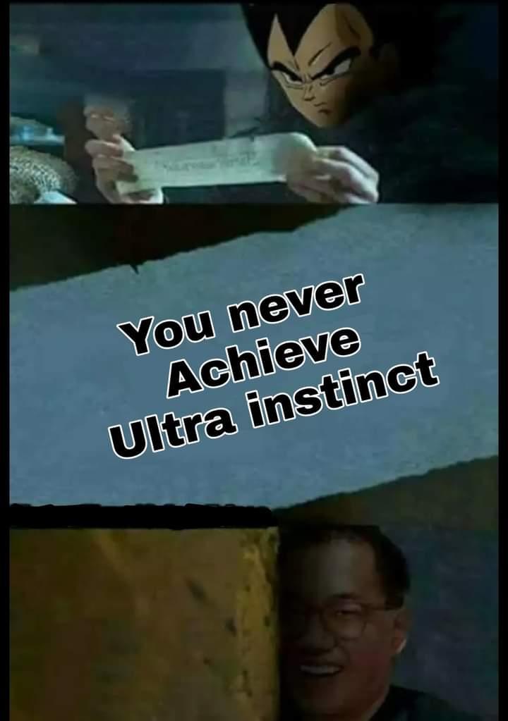 Memes vegeta ultra instinct