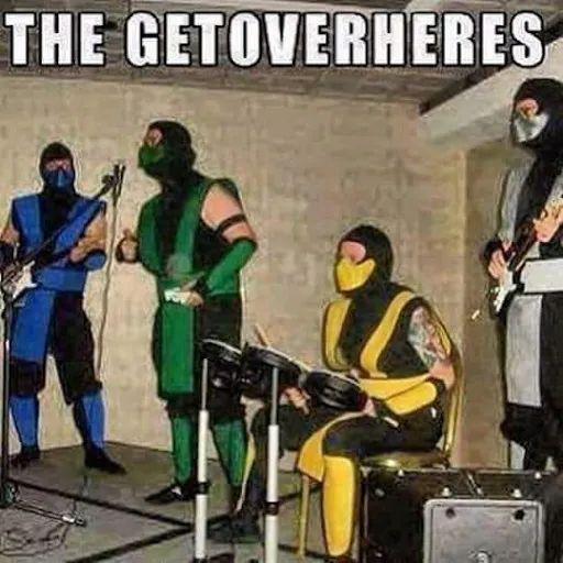 Mortal kombat music band meme