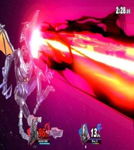 Ridley final Smash Super Smash Bros ultimate Nintendo Switch Metroid