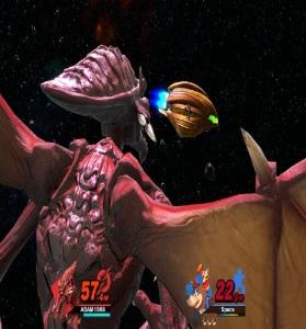 Final Smash Ridley Super Smash Bros ultimate Nintendo Switch Metroid