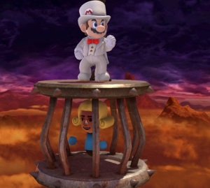 Captured princess Find Mii stage super Smash Bros ultimate Nintendo Switch