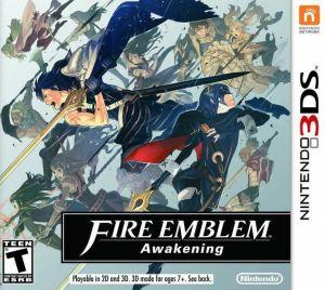 Fire Emblem Awakening Nintendo 3DS boxart