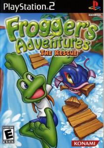 Frogger's Adventures: The Rescue ps2 boxart Konami