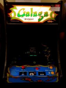 Galaga arcade machine Midway Namco