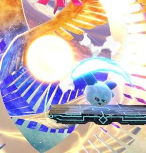 Kirby kills Galeem super Smash Bros ultimate Nintendo Switch