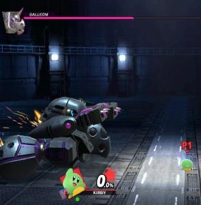 Kirby vs Galleom boss Super Smash Bros ultimate Nintendo Switch