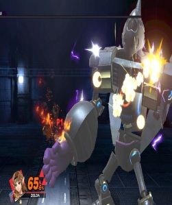 Princess Zelda vs Galleom boss Super Smash Bros ultimate Nintendo Switch