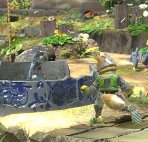 Lucina vs Fox Garden of Hope Stage super Smash Bros ultimate Nintendo Switch Pikmin