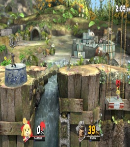 Garden of Hope Stage super Smash Bros ultimate Nintendo Switch Pikmin