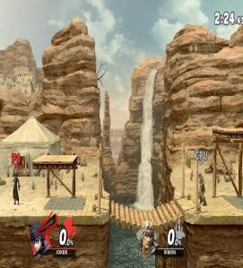 Gerudo Valley stage super Smash Bros ultimate Nintendo Switch the Legend of Zelda