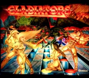 Gladiators Pinball machine