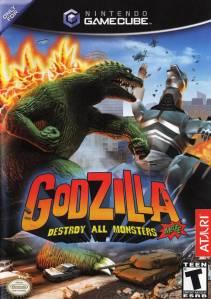 Godzilla: Destroy All Monsters Melee Nintendo Gamecube boxart
