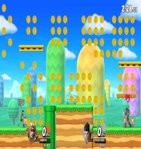 Golden Plains stage super Smash Bros ultimate Nintendo Switch