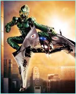 Spiderman 1 green goblin glider