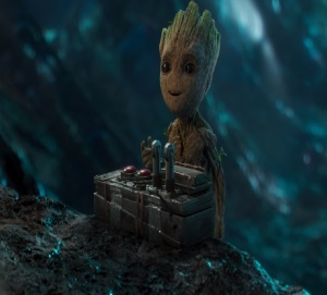Guardians of the Galaxy Vol. 2 baby groot has the bomb