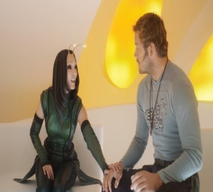 Guardians of the Galaxy Vol. 2 star lord gets his mind read