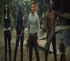 Guardians of the Galaxy Vol. 2 team arrives on new planet