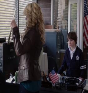 Emma Swan meets her son Henry Mills once upon a time Jennifer Morrison