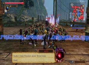 Boss battle Hyrule Warriors Nintendo WiiU