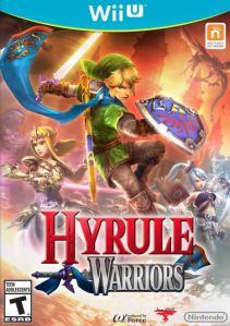 Hyrule Warriors Nintendo WiiU boxart
