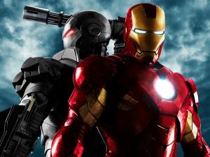 Iron Man 2 war machine and iron man