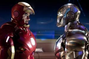 Iron Man 2 tony stark vs war machine Robert Downey Jr