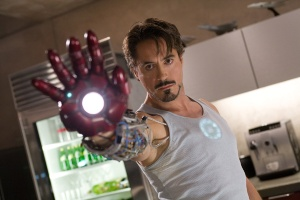 Iron man Tony stark builds first glove
