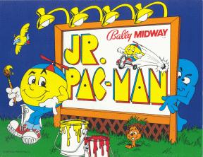 Jr. Pac-Man American poster