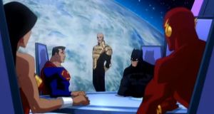Good lex Luthor Justice League: Crisis on Two Earths
