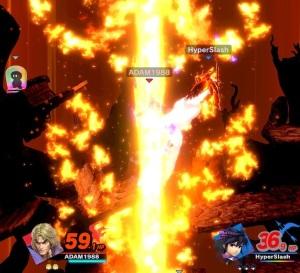Final Smash Ken super Smash Bros ultimate Nintendo Switch street fighter Capcom