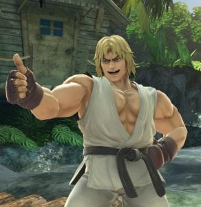 Ken super Smash Bros ultimate Nintendo Switch street fighter Capcom