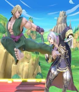 Ken vs Robin super Smash Bros ultimate Nintendo Switch street fighter Capcom