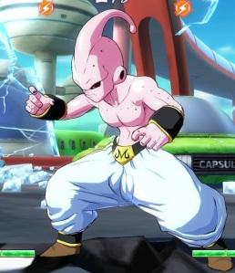 Pink kid Buu dragon Ball FighterZ Nintendo Switch Xbox One PS4