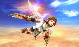 Kid Icarus: Uprising Nintendo 3DS Pit flying angel wings