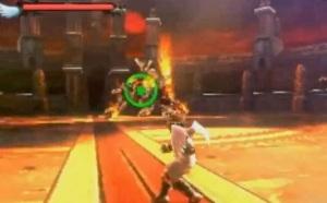 Boss battle Kid Icarus: Uprising Nintendo 3DS