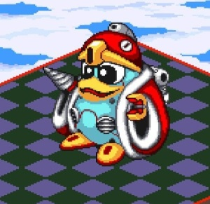 Robo King Dedede Kirby's Dream Course super Nintendo snes