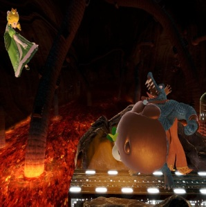 King K Rool countering princess peach super Smash Bros ultimate Nintendo Switch