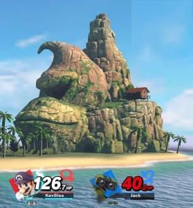 Donkey Kong Island final Smash King K Rool super Smash Bros ultimate Nintendo Switch