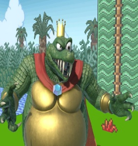 King K Rool super Smash Bros ultimate Nintendo Switch