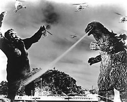 King Kong vs Godzilla 1962 final battle