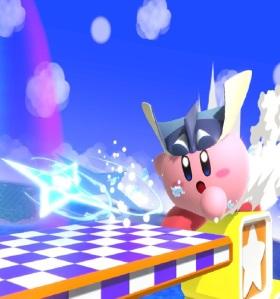 Kirby as Greninja super Smash Bros ultimate Nintendo Switch Pokémon