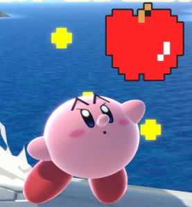 Kirby as Pac-Man Super Smash Bros ultimate Nintendo Switch Bandai Namco