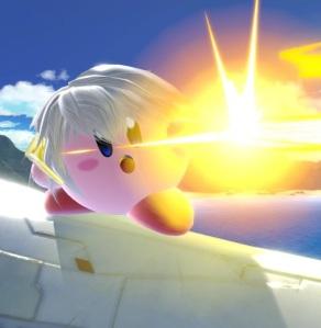 Kirby as Robin super Smash Bros ultimate Nintendo Switch fire Emblem